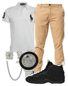 """""""Untitled #45"""" by young-rich-nvgga ❤ liked on Polyvore featuring Ralph Lauren, Elwood, David Yurman, NIKE, women's clothing, women's fashion, women, female, woman and misses"""