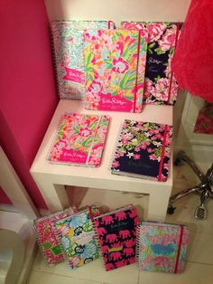 The upcoming Lilly Planners for Fall!!!