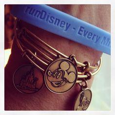 Alex and Ani Disney Bangles. #AlexandAni #runDisney BamagirlRUNS.com