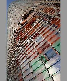 architecture photographer london birmingham midlands - ☮k☮ Barcelona Architecture, Art And Architecture, Architecture Details, Jean Nouvel, Reflection And Refraction, Color Studies, Facade Design, Built Environment, Texture Painting