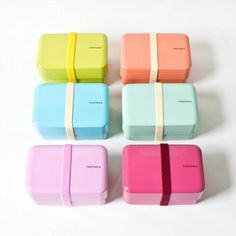 Candy Coated Lunch Boxes from Zakka Shop.