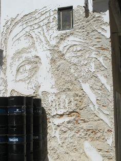 Portugal+Art | ... our canvasStreet Art by Vhils in Lisbon, Portugal » STREET ART UTOPIA
