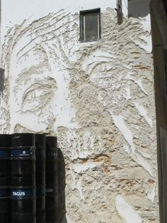 STREET ART UTOPIA » We declare the world as our canvasStreet Art by Vhils in Lisbon, Portugal » STREET ART UTOPIA