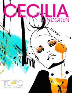 Cecilia Lundgren  #TrafficNYC #FashionIllustration