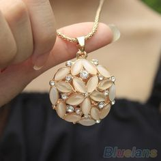 Online Buy Wholesale flower crystal necklace from China flower ...