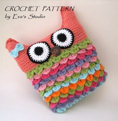 Αποτέλεσμα εικόνας για crochet owl phone case pattern free