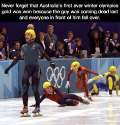 Funny pictures about Australia's first ever winter Olympics gold. Oh, and cool pics about Australia's first ever winter Olympics gold. Also, Australia's first ever winter Olympics gold. Funny Cute, The Funny, All That Matters, Morning Humor, Just For Laughs, Funny Posts, Laugh Out Loud, I Laughed, Fun Facts
