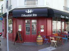 L'Amitié Rit, bar à vins à Montreuil