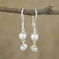 @Overstock - Explore the beauty of Indonesian handcrafts with these mabe pearl silverplated earrings. This handcrafted jewelry piece will add a delicate elegance to any outfit on any occasion.  http://www.overstock.com/Worldstock-Fair-Trade/Mabe-Pearl-Silverplated-Brass-Dangle-Earrings-Indonesia/6185896/product.html?CID=214117 $21.99