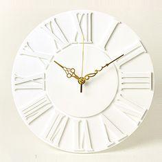 掛け時計/壁掛け時計/ローマクロック ホワイト | プラスアート