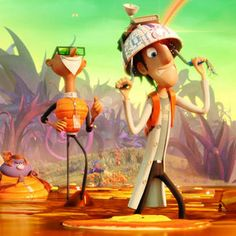 Cloudy with a Chance of Meatballs 2 Clip 'Chester V' -- The acclaimed scientist sends his hologram in for damage control with this latest look at the animated sequel, raining into theaters later this month. -- http://wtch.it/eni7h