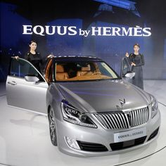 #TOTB -- the #Hyundai limo Equus by #Hermes