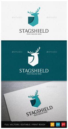 Stagshield Logo Template - Animals Logo Templates