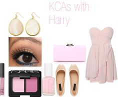 """KCAs with Harry"" by foreveryoungonedirection ❤ liked on Polyvore"