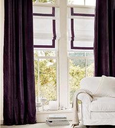 HOME DZINE Craft Ideas   Dress up curtains and blinds with ribbon
