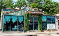 'Nuri village cafe' in Jecheon, Korea