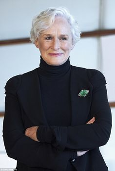 Upcoming: The drama sees six-time Oscar nominee Glenn Close playing Joan Castleman, a woman best known as the wife of an incredibly successful man Beautiful People, Beautiful Women, Glenn Close, Ladies Gents, Poses For Photos, International Film Festival, Matching Outfits, American Actress, Amazing Women