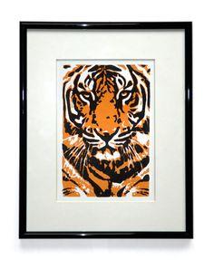 Tiger Linocut £15.00