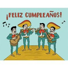 Happy Birthday Wishes Spanish Greetings Friend Messages Mexican Meme