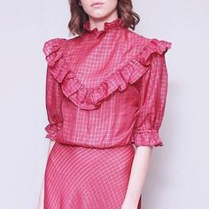 Pink ruffled metallic gingham dreams  online now @asosmarketplace search code: 2866431  #peekaboo #vintage #asosmarketplace #pink #ruffle #metallic #love #shopping #fashion #style #welove #ootd #christmas #dreamy ###peekaboovintage  Peekaboovintage.com