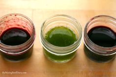 Natural Food Colouring... yes!