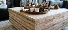 Salontafel oud steigerhout Dublin