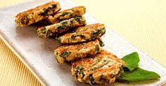 Aprenda a preparar a receita de Bolinho de espinafre e aveia