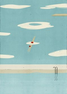 Dive Deep. Illustration by Alessandro Gottardo.