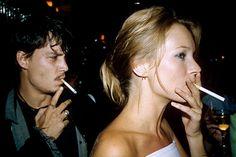 Johnny Depp and Kate Moss Reunion - Johnny Depp Kate Moss Relationship Photos - ELLE