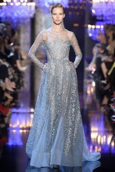 Elie Saab Fall 2014 Haute Couture This one screams redcarpet