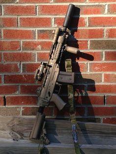 Airsoft Guns, Weapons Guns, Guns And Ammo, Zombie Weapons, Shooting Guns, Shooting Range, Ar Rifle, Battle Rifle, Fire Powers