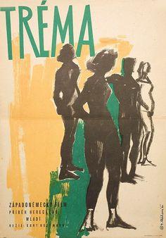 lamp-fever-1960-original-czech-republic-movie-poster