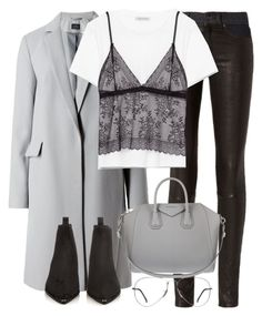 """""""Untitled #2911"""" by elenaday ❤ liked on Polyvore featuring rag & bone, Givenchy, Acne Studios and Ray-Ban"""