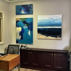 Artist Benna Holden current solo exhibition at Kalib & Kalib Attorneys at Law in NYC