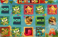Piňata Pop - http://www.automaty-ruleta-zdarma.com/hraci-automat-pinata-pop-online-zdarma/
