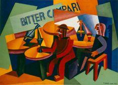 A 1926 international Campari ad highlights the bitter nature of the aperitif. Campari Soda, Campari Cocktails, Cocktail Drinks, Vintage Italian Posters, Poster Vintage, Vintage Labels, Vintage Ads, Vintage Wine, Retro Ads