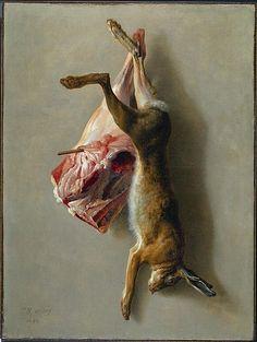 L'hallali du loup - Jean-Baptiste Oudry - WikiArt.org