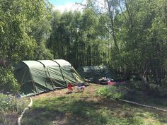 Pitch Camping at Beech Estate Campsite Near Robertsbridge, Sussex