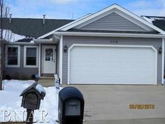 SOLD! Newer ranch in South Bloomington. Very open plan with a finished lower level. Neutral decor. Fenced backyard. Located near a golf course.
