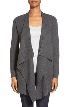 Eileen+Fisher+Long+Drape+Front+Cashmere+Cardigan+available+at+#Nordstrom