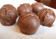 Simply Designing with Ashley: Thin Mint Cookie Balls