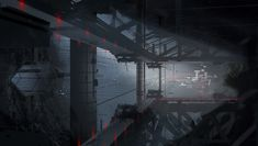 ArtStation - Boomtown's Endless Assembly set extension, Tu Bui
