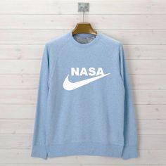 Nasa light blue Unisex Sweatshirts