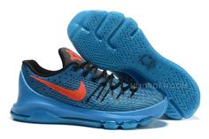 402d46483ee8 Nike KD 8 Blue Black Orange