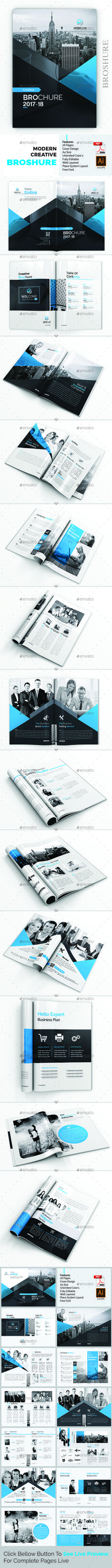 Creative Brochure Template Vector EPS, AI Illustrator