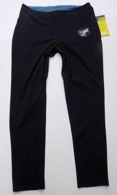 8196a0a84c6 Style   Co Sport Tummy Control SKINNY Leg Black Yoga Pants Size 0x 14
