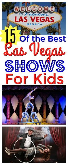 Whether you are looking for concerts, comedians, musicians, impersonators, animals, acrobatics, dancers, or just stunning visuals, there is something that adults and children of all ages will love. Here are the top picks for the best Kid-Friendly Las Vegas shows that the whole family can enjoy.