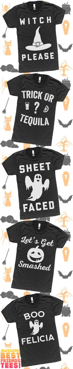 Shop Our Super Cool, Vintage Black Halloween Shirts. Who Needs A