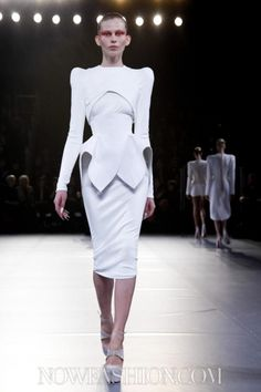 Mugler, Ready to Wear, Fall Winter, 2012, Paris
