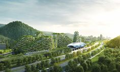 World's First Vertical Forest City Breaks Ground in China